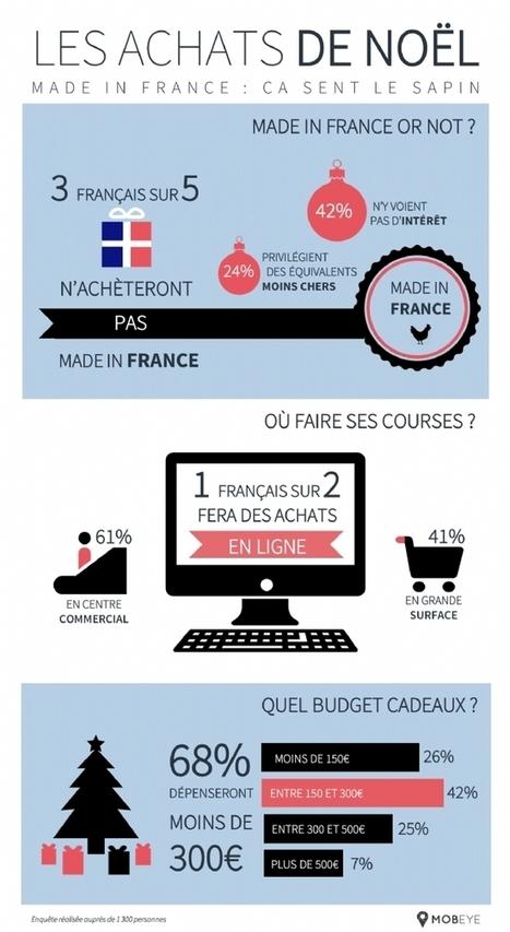 Infographie | Un Français sur deux fera des achats en ligne pour Noël | E-commerce - Réseaux sociaux | Scoop.it