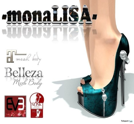 Yara Heels Group Gift By MonaLISA | Teleport Hub - Second Life Freebies | Second Life Freebies | Scoop.it