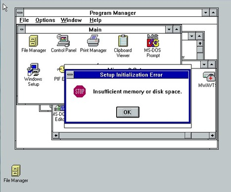 Windows 3.1 rebooted: Microsoft's DOS destroyer turns 20 | Microsoft | Scoop.it