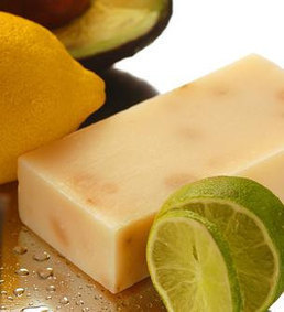 West Indian Lemon Soap with Avocado, Lime, Honey - Gourmet Soap Bar Handmade in Tasmania   Beauty and the Bees Tasmania   Scoop.it