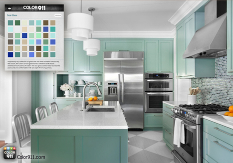 Color Inspiration for Kitchen Renovations | All About Kitchen Remodel | Scoop.it