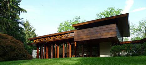 Une maison de l 39 architecte frank lloyd wright d - Frank lloyd wright architecture organique ...