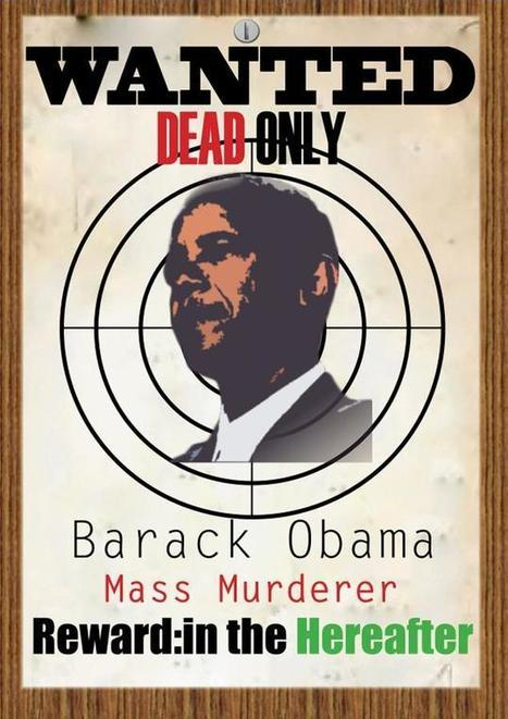 Jihadist Magazine:WANTED DEAD ONLY: Barack Hussein Obama | Littlebytesnews Current Events | Scoop.it