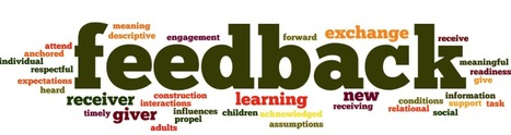 Feedback That Supports Learning for Everyone | Evaluación auténtica | Scoop.it