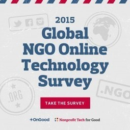 Announcing the 2015 Global NGO Online Technology Survey ☑ | Nonprofit technology | Scoop.it
