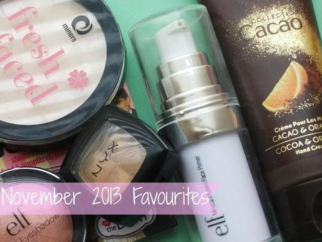 Raspberrykiss | UK Beauty Blog: November 2013 Favourites | Beauty | Scoop.it