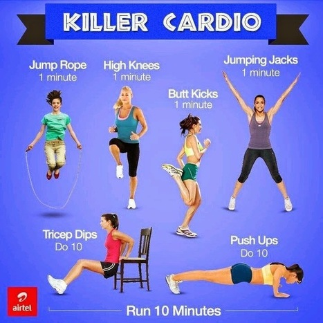 Maximizing Your Cardio Workout | Useful Fitness Articles | Scoop.it