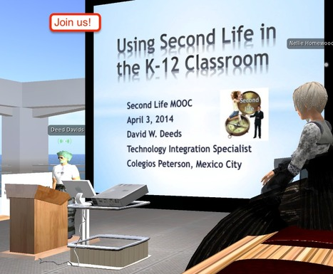 David and K-12 in Second Life | eduMOOC 4 ALL | Scoop.it
