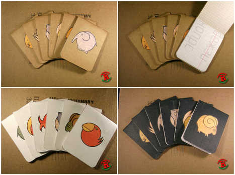 Renotes #12: Adorable Little Paper Zoo   1001 Recycling Ideas !   Scoop.it