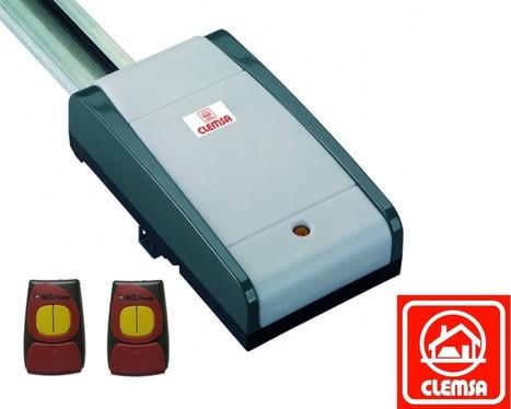 CLEMSA  AS60 para puertas seccionales y basculantes de muelles de hasta 7,6m².   automatismos   Scoop.it