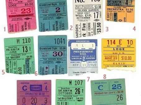 La revente de tickets de spectacle: une priorité en temps de crise? | Le Parti Libertarien | Scoop.it
