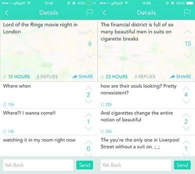Yik Yak: the anonymous app taking US college campuses by storm | FutureSocial | Scoop.it
