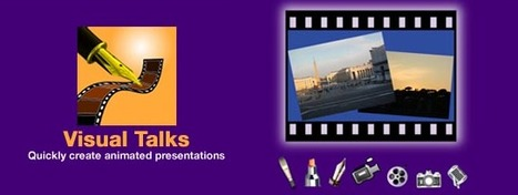 Visual Talks – Quickly create animated presentations | iPad:  mobile Living, Learning, Lurking, Working, Writing, Reading ... | Scoop.it