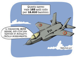 Sospendere il programma degli F-35 - Giulio Marcon | Giornalista ambientale e ecoblogger. Semplicemente Letizia | Scoop.it