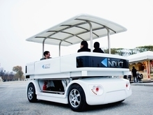 Rencontre avec Navia, la Google Car à la française | INDUCT | Scoop.it