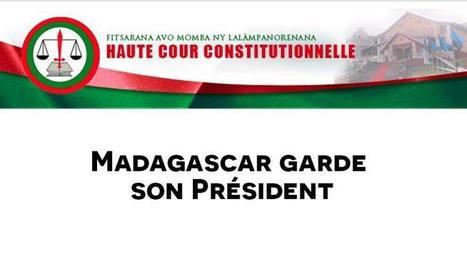 La HCC sauve le président. - DwizerNews | Politique, société | Scoop.it