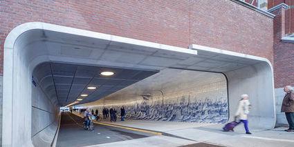 Nuovo tunnel artistico per pedoni e ciclisti ad Amsterdam | EcoTurismo e Mobilità Sostenibile | Scoop.it