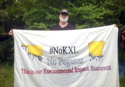 Keystone XL: Activist Locks Himself to Machinery, Marks Close of State Department Comment Period | EcoWatch | Scoop.it
