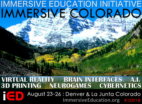 Immersive Colorado and IMMERSION 2016 Australia announced   Immersive Education Initiative   Second Life and other Virtual Worlds   Scoop.it