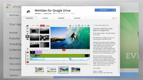 ▶ WeVideo for Google Drive™ - YouTube   Foto-oppia.   Scoop.it