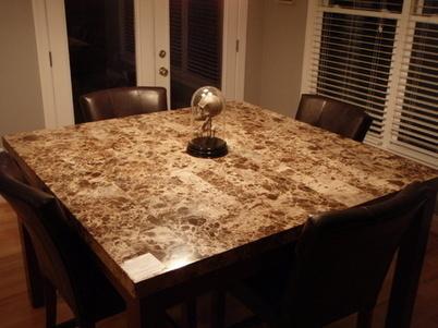 Design d'intérieur: Le marbre et le granit ont complété des Tableaux   Table pierre   Scoop.it