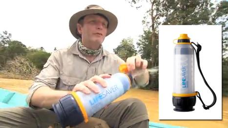 Lifesaver, la bouteille qui permet de filtrer directement les bactéries ... | Traitement de l'eau par les UV par ABIOTEC | Scoop.it