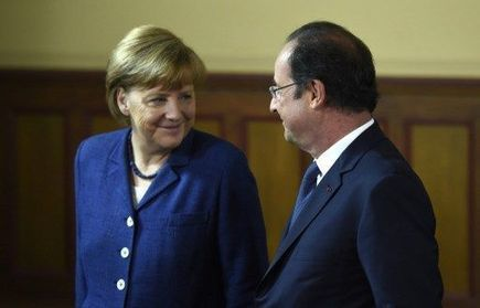 Hollande et Merkel s'affichent unis | Campagne européennes 2014 | Scoop.it