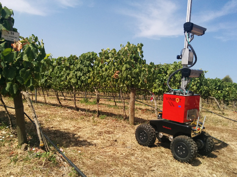 Protecting European wine: Vinbot rover optimises harvest and quality - Robohub | Pour innover en agriculture | Scoop.it