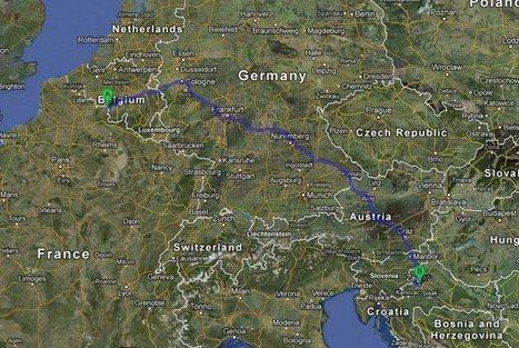 Elle fait près de 1 500km de trop... la faute à son GPS | carto | Scoop.it