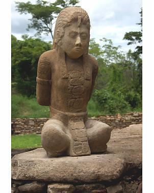 Découvertes de 2 statues de guerriers mayas captifs au Mexique | Aux origines | Scoop.it