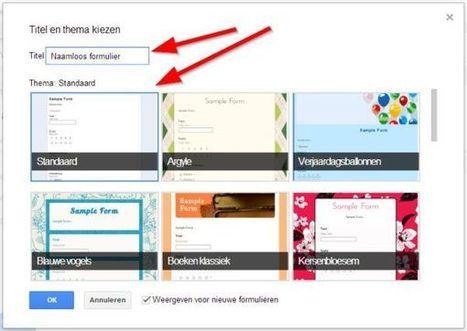 Hoe voeg je YouTube filmpjes toe aan een Google Formulier? | digitaal onderwijs | Scoop.it