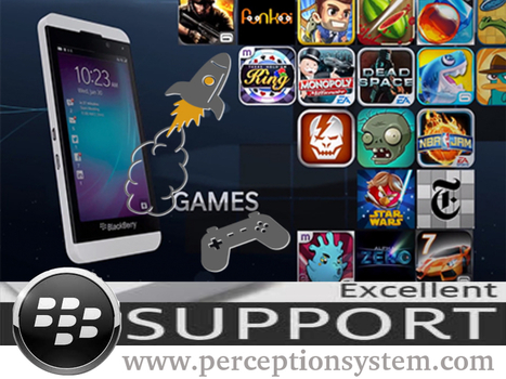 Blackberry 10 OS - Excellent Gaming Supported | All Mobile App Development Mart | Scoop.it