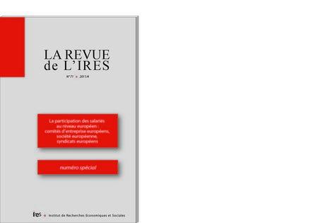 Revue de l'IRES n° 74 - 2012/3 | Politiques RH Handicap Diversité Senior | Scoop.it