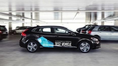 Volvo demos smartphone-enabled self-parking car prototype (video)   Cars   Scoop.it
