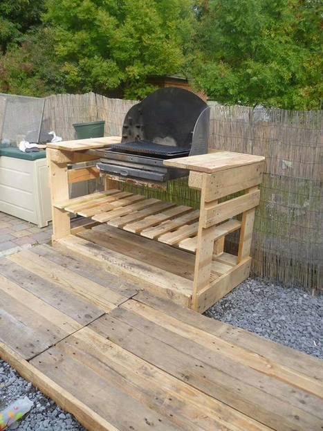 A barbecue with pallets? | Upcycled Objects | Scoop.it