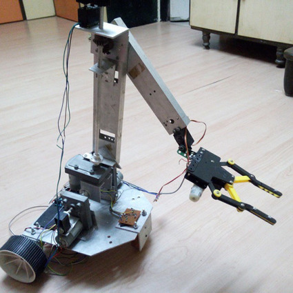 Insta-Arduino | Final Year Project : Robotic Arm with a Wheel Base... | Raspberry Pi | Scoop.it