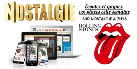 Nostalgie lance la webradio Rolling Stones | Radio 2.0 (En & Fr) | Scoop.it