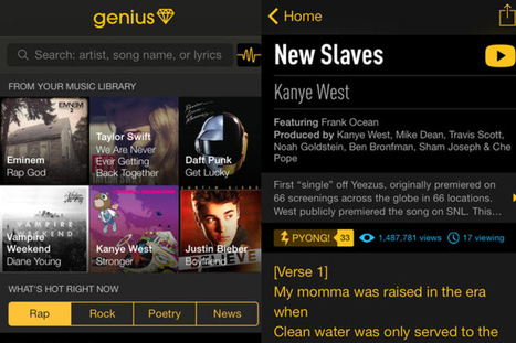 Rap Genius launches iPhone app, a 'pocket guide to human culture ... | Bikaner,rajasthan,india | Scoop.it