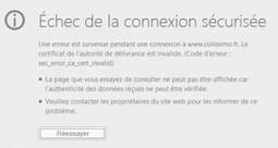 Astuce : Firefox et l'erreur sec_error_ca_cert_invalid | Autour de... Sam | Nas et réseaux | Scoop.it