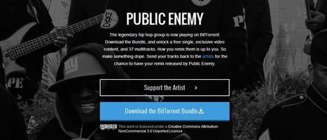 Public Enemy choisit BitTorrent pour sa promotion | Libertés Numériques | Scoop.it
