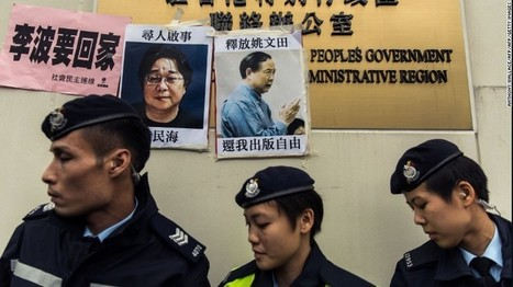 Hong Kong booksellers: 3 missing men 'in China' - CNN.com | LibraryHints2012 | Scoop.it