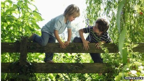 Get outside and go wild, kids urged - BBC | Healthy Living | Scoop.it