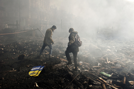 These maps show the chaotic history of Kiev's protests - Washington Post (blog)   Special Purpose Maps   Scoop.it