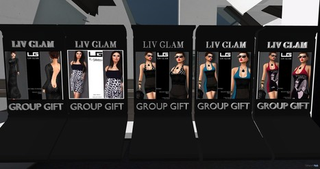 Six Dresses Group Gifts by Liv Glam | Teleport Hub - Second Life Freebies | Second Life Freebies | Scoop.it