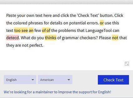 11 Online Grammar Checker Tools For Error Free Writing | Blogging Tips | Scoop.it
