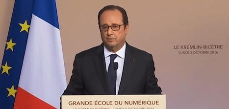 François Hollande présente les débuts de la Grande École du Numérique - Politique - Numerama | Coopération, libre et innovation sociale ouverte | Scoop.it