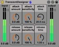 "Free Max for Live Effect ""Transient Designer"" - Sonic Bloom 