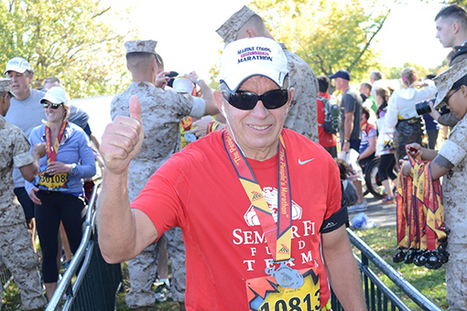 Retired Marine On Marathon Streak To Raise PTSD Awareness - Runner's World | Fitness, Health, Running and Weight loss | Scoop.it