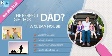 The perfect gift for DAD | Santa Barbara House Cleaning Services - Cleaning By Rosie Call 805-698-3132 | Home and Garden Services | Scoop.it