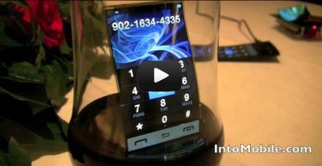 Type de technologie : Les écrans flexibles de Samsung | | Espaces de diffusion sur écrans | Scoop.it
